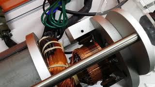 전기자동차 원리 단상모터 내부 구조 feat 영등포공고…