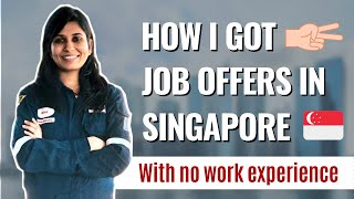 How I got 2 job offers in Singapore   Job hunting process   Preparation strategies
