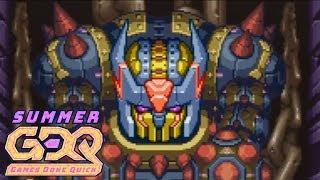 Mega Man Zero 4 by Nu_ in 48:39 - SGDQ2018