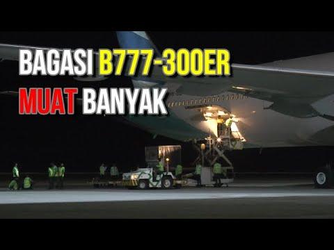 Mengintip Bagasi B777 300ER Di Bandara YIA Jogja
