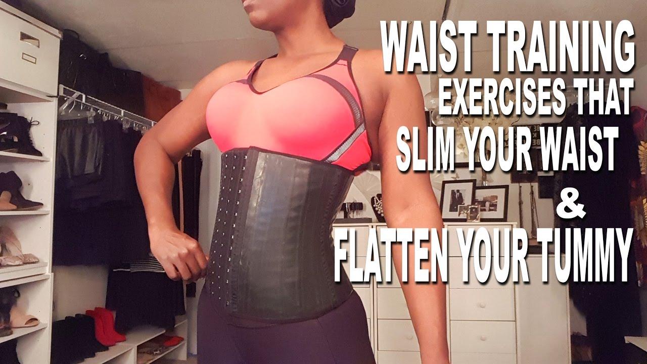 Waist training exercises