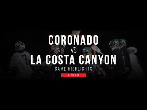 Coronado (CA) vs La Costa Canyon (CA) | 2017 CIF San Diego Section Final