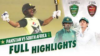 Full Highlights | Pakistan vs South Africa | 3rd T20I 2021 | PCB | ME2E