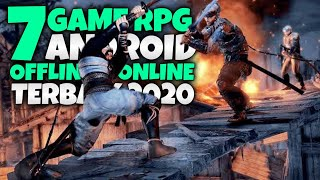 Top 7 Game RPG Android Offline & Online Terbaik 2020 -  Royale Playing Games For Mobile Graphics HD