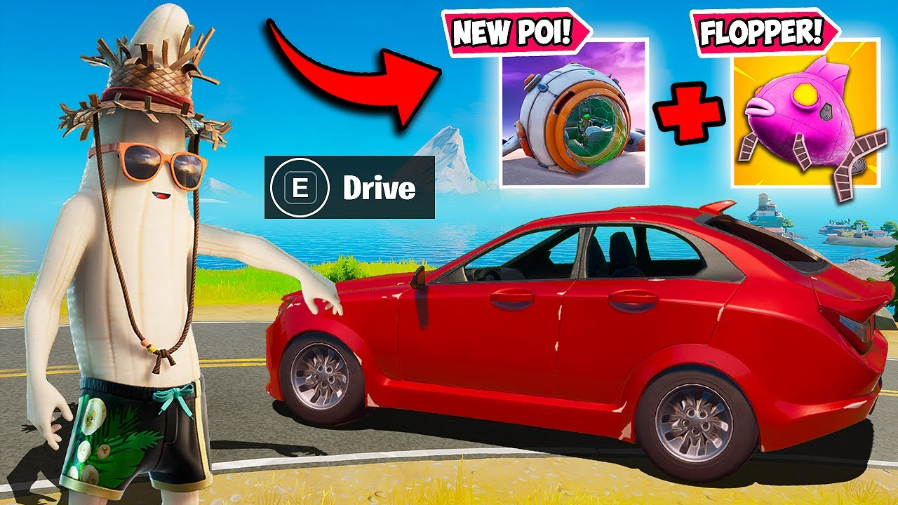 New Biggest Update Ever New Cars Location Floppers Skins Fortnite Fails 981 Youtube