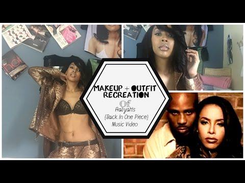 Makeup Look: Recreating Aaliyah's Back In One Piece Music video!