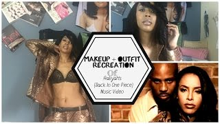 Makeup Look: Recreating Aaliyah