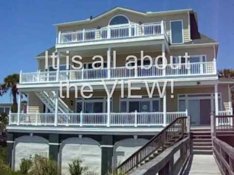 Atlantic House Remembered Ocean Front Folly Beach Sc Ocean Front Beach Rental Youtube
