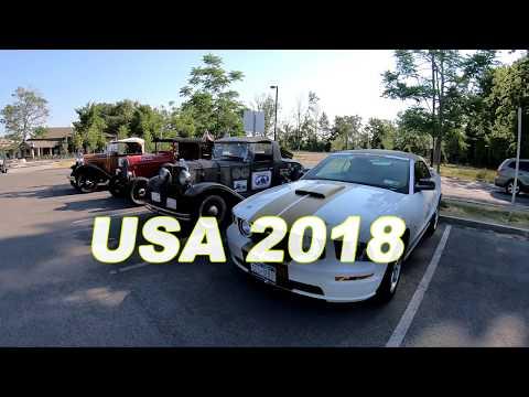 Road Trip to USA 2018 | GoPro HERO 6 4K | Travel Video