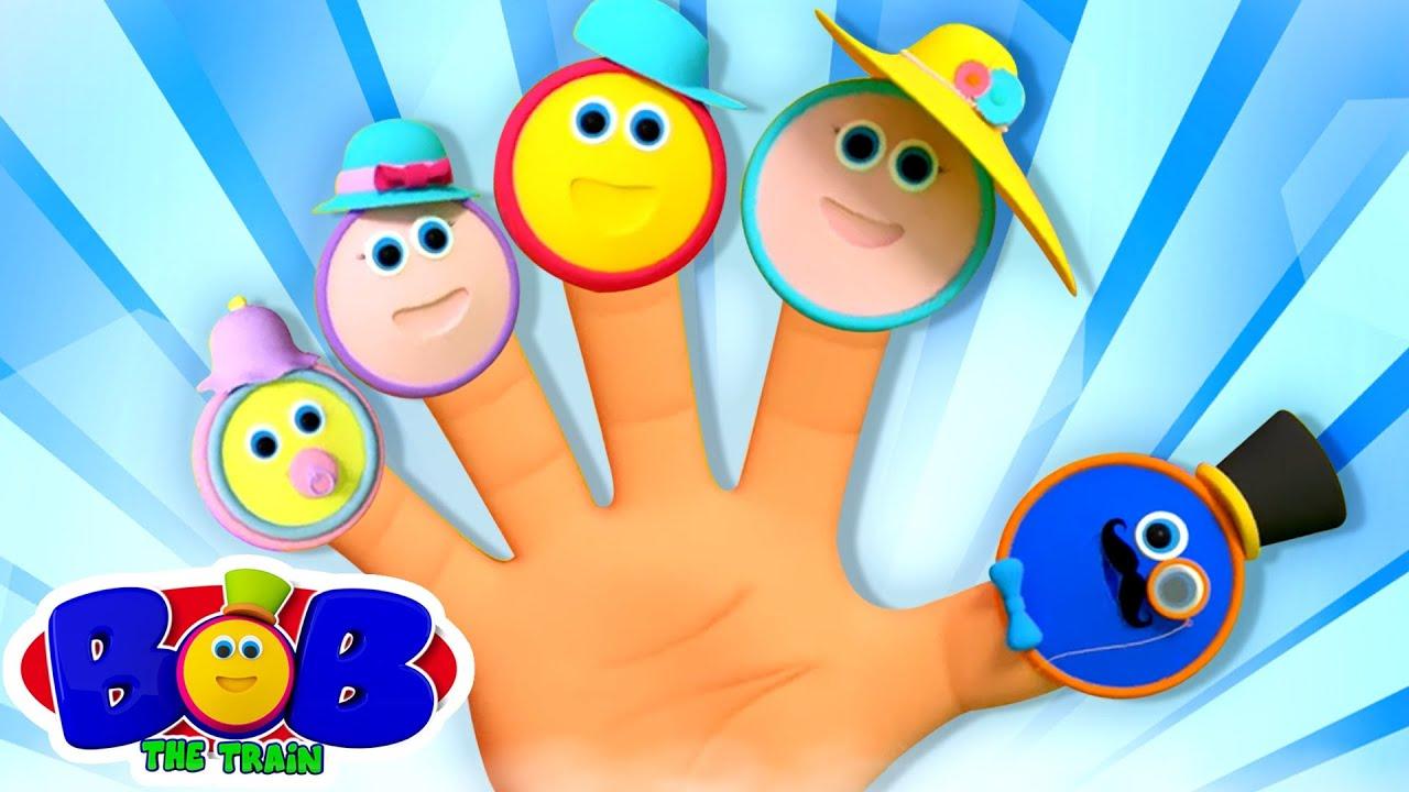 Bob The Train Finger Family | Baby Finger | Daddy FInger | Nursery Rhymes & Kids Songs | Baby Rhyme