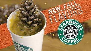 Starbucks Releases NEW Fall Flavors!!!