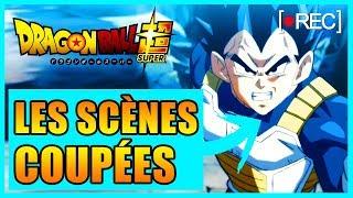 DES SCÈNES COUPÉES DANS LES ÉPISODES 109-110 DE DRAGON BALL SUPER - DBREACT #10