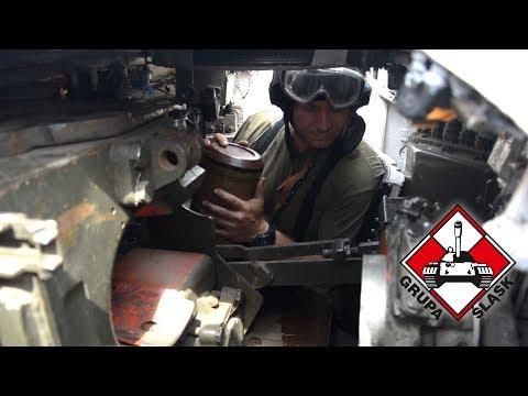 Czołg T-72 - sprawdzenie automatu załadowania.