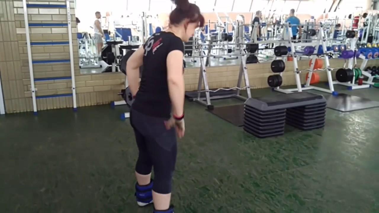 Утяжелители для ног от 250руб, тренировка видео - YouTube