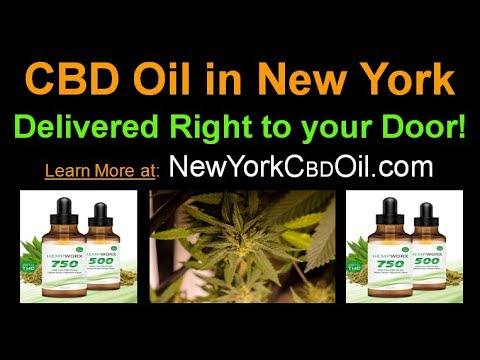 CBD Oil in New York - Delivered to You without a Prescription – 100% Organic New York CBD Oil