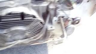 Retrait par choc 205 Peugeot diesel 1991