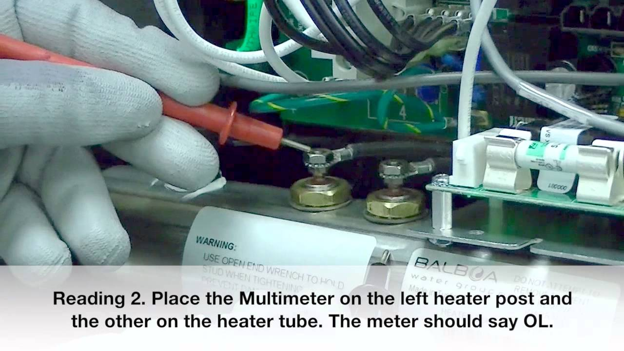 balboa bp2000 technical series troubleshooting testing the heater youtube [ 1280 x 720 Pixel ]