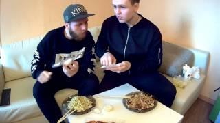 Два Толстяка. Обзор доставки суши Yoshiko(Москва) и пицца Extrasushi