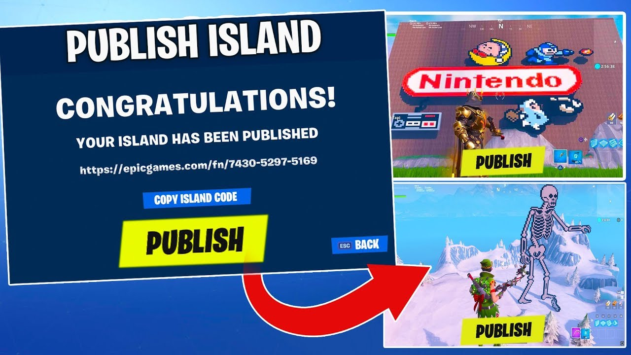 Fortnite new island codes