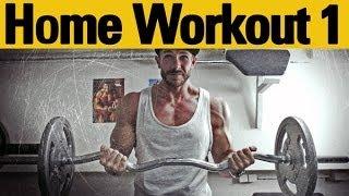 Muskelaufbau, Training Zuhause - Neue Reihe - Teil 1