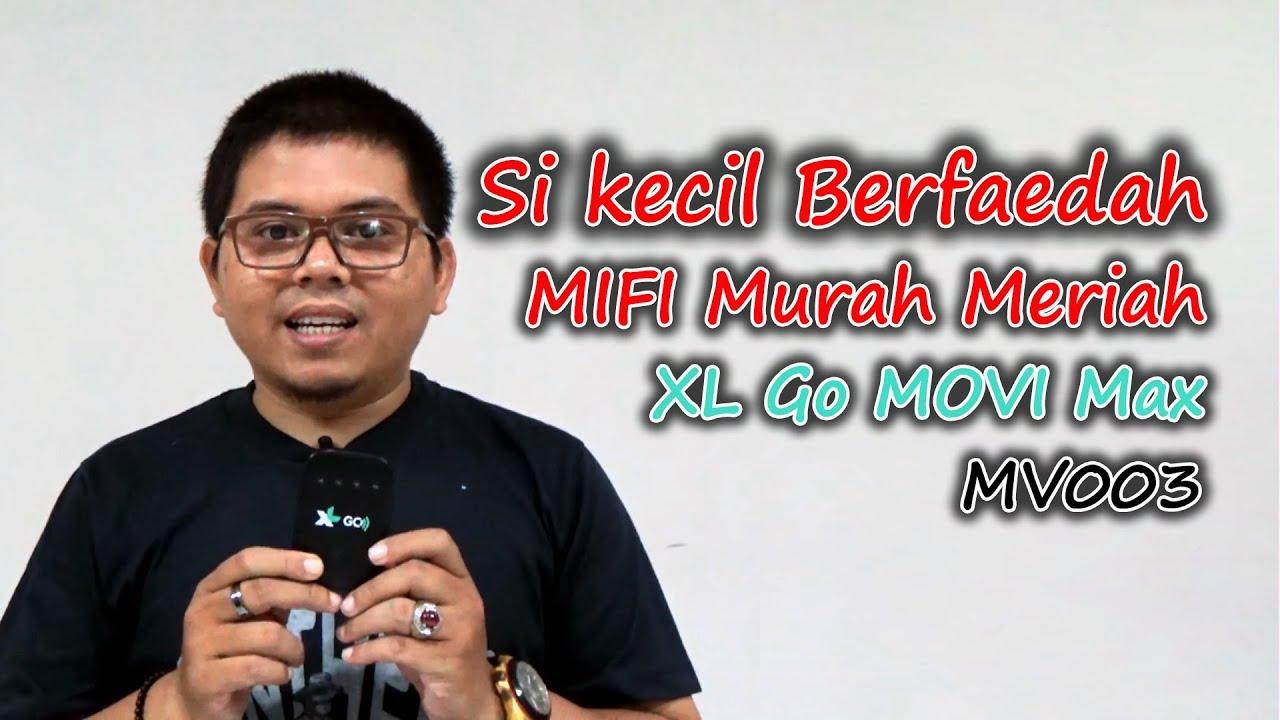 Kecil Murah Berfaedah Mifi Modem Wifi Xl Go Movi Max Mv003 Bah Number  Meriah Amung Minor