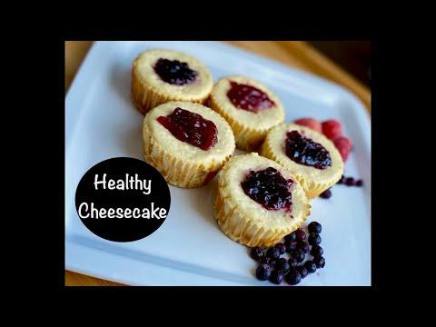 Healthy Greek Yogurt Cheesecake with Honey No butter No Sugar Recipe