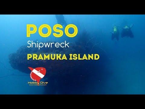 POSO Shipwreck ~ Pramuka Island Diving Trip