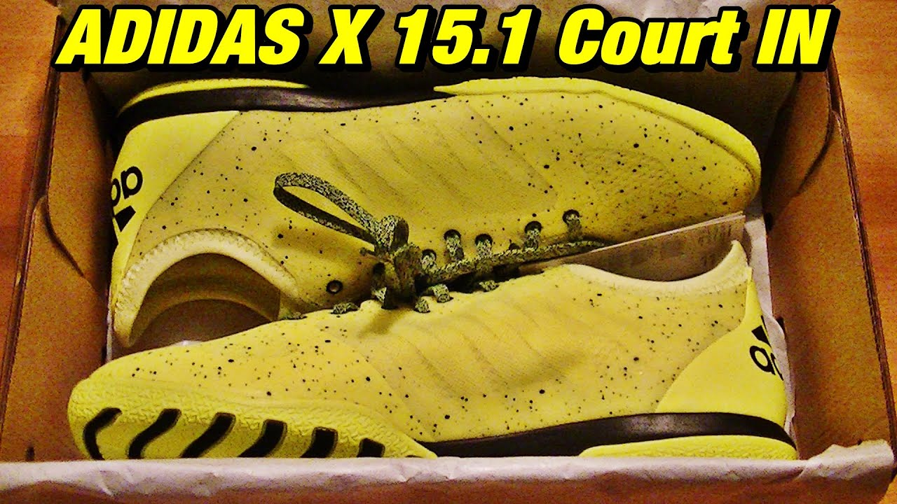 5b734a0a6 UNBOXING | ADIDAS X 15.1 Court IN - YouTube