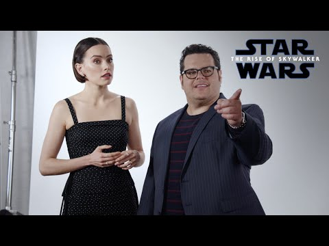 Josh Gad tries to get answers from Daisy Ridley about Star Wars: The Rise Of Skywalker