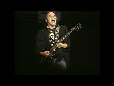 Neil Young & Crazy Horse - Hey Hey, My My ( Into the Black ) live 1991 HD