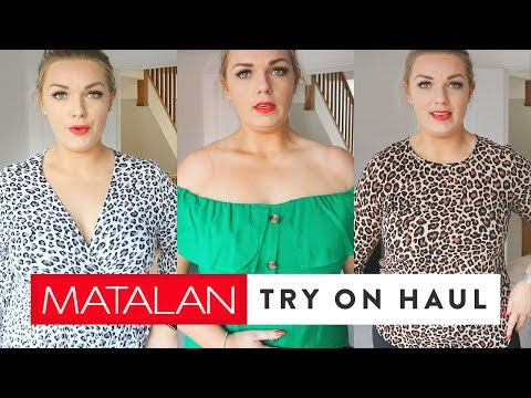 Matalan Try On Haul | Spring Curve Fashion