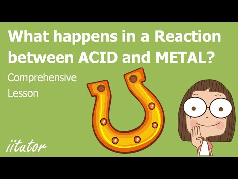 √ Reactions Of Metals With Acids | Metals | Chemistry