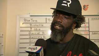 Ed Reed on working out with Orioles