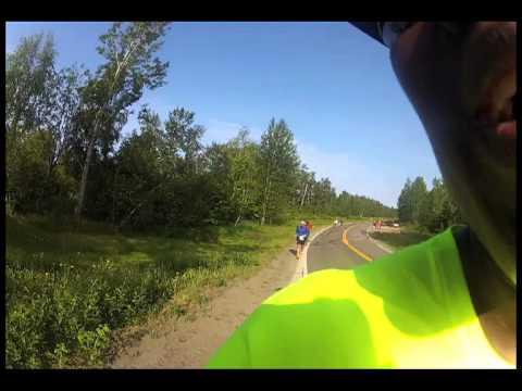 GeorgE World Vision - Maratón Sol de Media Noche en Anchorage, Alaska 2013
