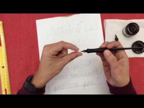 Dip Pen Techniques
