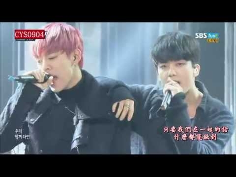 [LIVE中字]151117 B.A.P-Young, Wild & Free@The Show