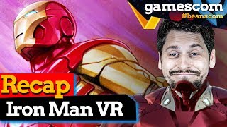 Marvel's Iron Man VR: Unsere Meinung nach dem GC Hands On | gamescom 2019