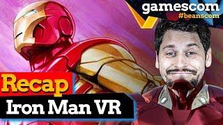 Marvel's Iron Man VR: Unsere Meinung nach dem GC Hands On   gamescom 2019