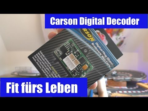 🏁So einfach. Ich finds geil! Scalextric Umbau auf Carrera digital 132 mit dem Carson digital Decoder
