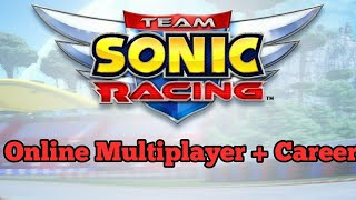 Team Sonic Racing Career and Online Multiplayer