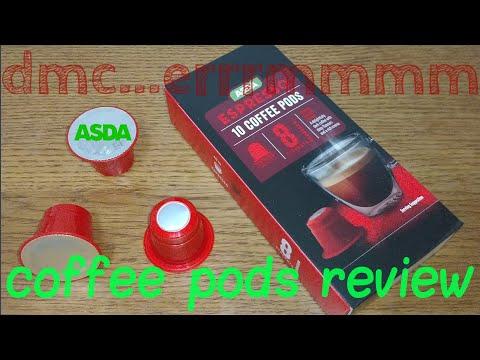 Asda Espresso Coffee Pods Review Youtube