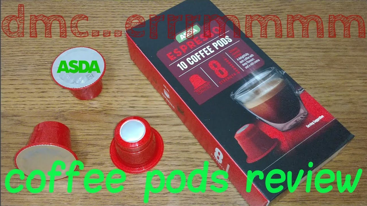 Asda Espresso Coffee Pods Review