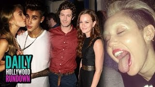 Justin Bieber All That Matters Kiss! Miley Cyrus Shaves Brows? Leighton Meester Adam Brody ENGAGED!