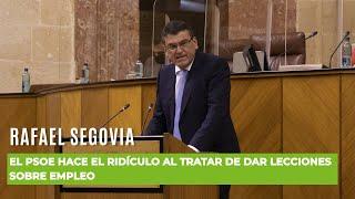 Los sinvergüenzas del PSOE tratan de dar lecciones sobre Empleo