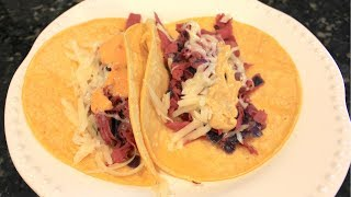 Corned Beef Irish Tacos With Cabbage and Potatoes: St  Patrick's Day Recipe