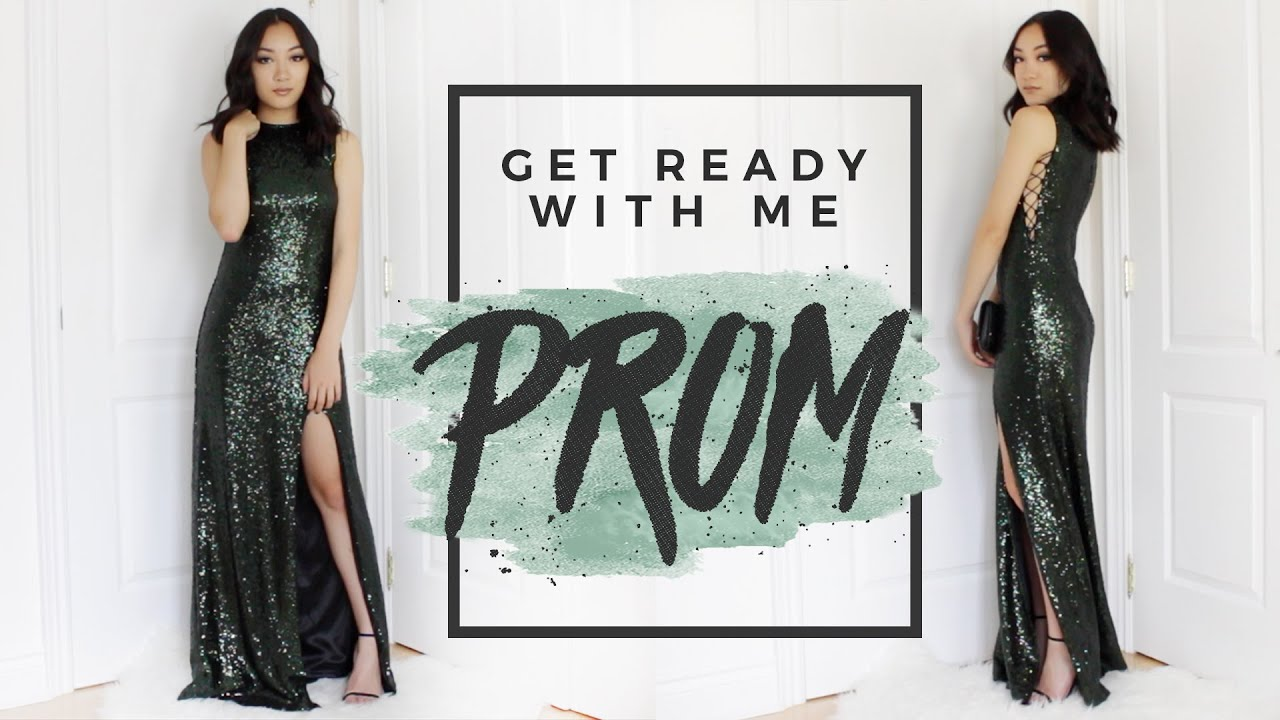 Get prom ready with me hair makeup dress - Get Ready With Me Prom