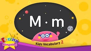 Kids vocabulary compilation ver.2 - Words starting with M, m - Learn English for kids