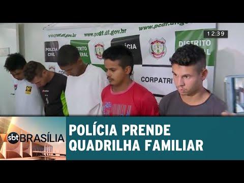 Polícia prende quadrilha familiar