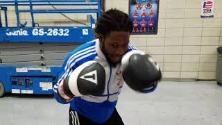 """Mark """"Too Sharp"""" Johnson Non-Stop Conditioning Drills For His Fighters!"""