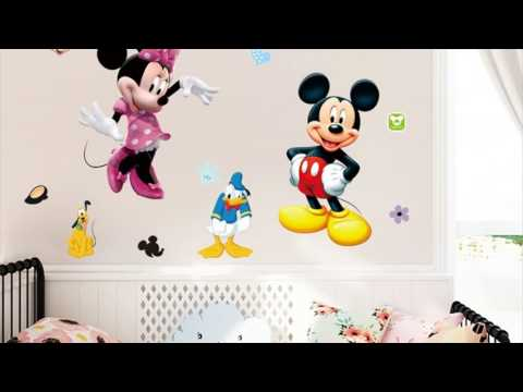 Minnie Mouse Wall Stickers For Kids Rooms